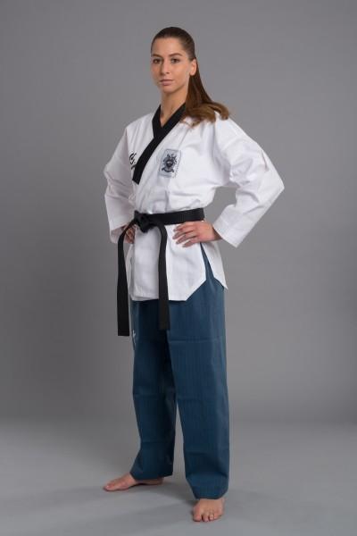 WACOKU Poomsae Taekwondoanzug für Damen mit WTF-Zulassung 1