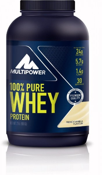 Multipower 100% Pure Whey, 900 g Dose