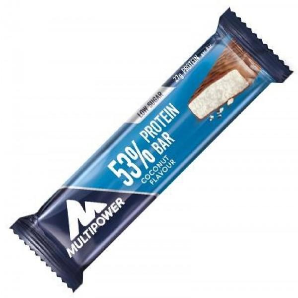 Multipower 53% Protein Bar, 24 x 50 g Riegel