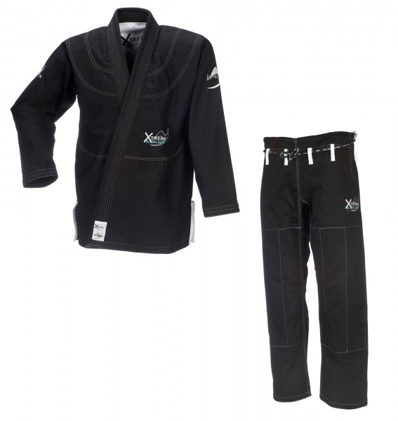 JU-SPORTS BJJ-Anzug Xtreme Superlight C19 schwarz