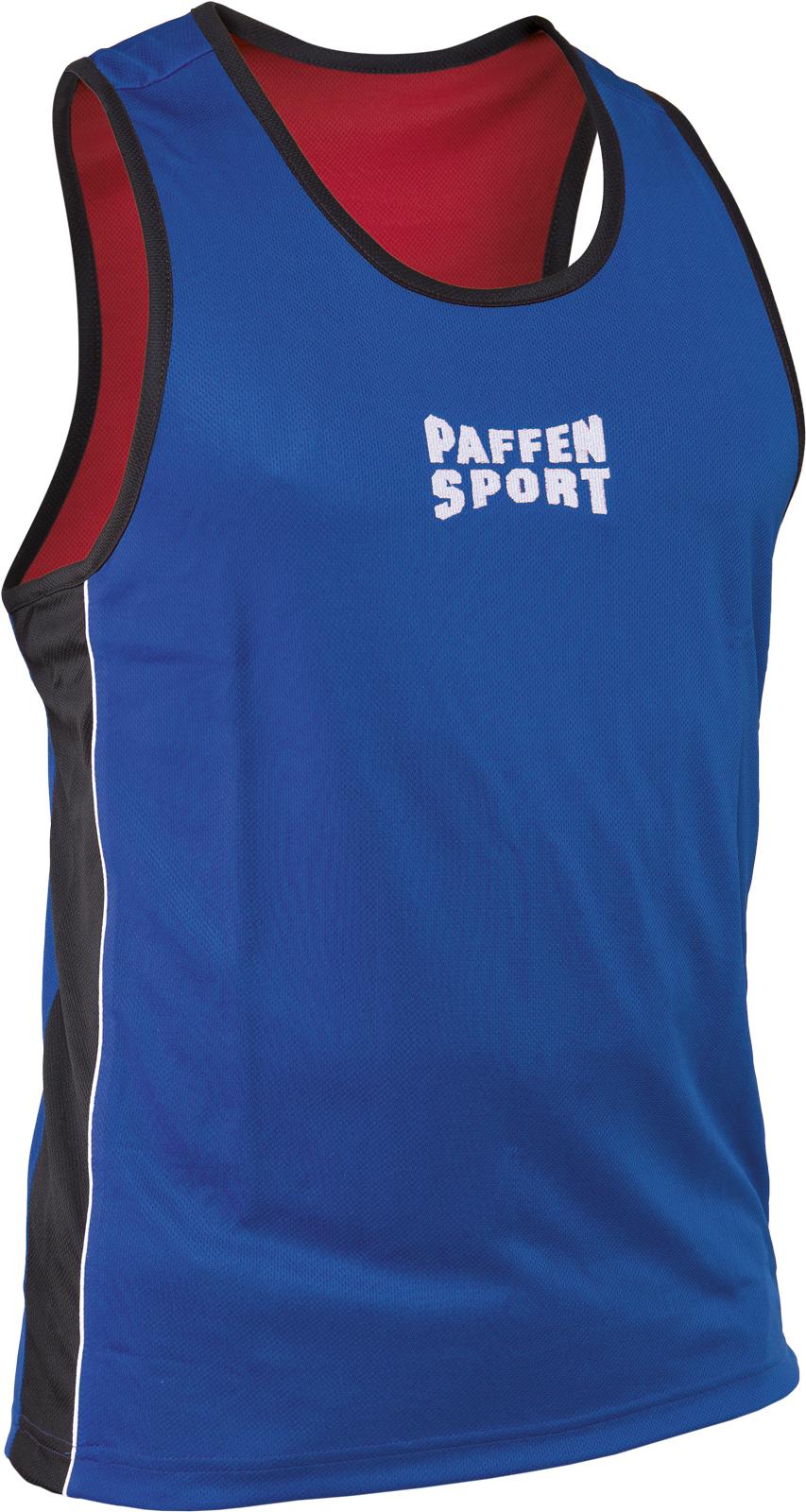 "Paffen Sport Größe: XS-XXL /""Contest/"" Boxerhemd Amateurboxen.Polyester Rot"