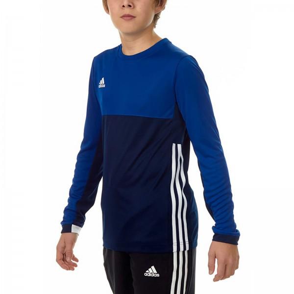 adidas T16 Clima Cool Longsleeve Damen navy blau//royal blau AJ5486