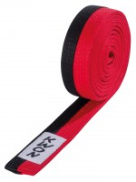 KWON Taekwondo Poomsae Gürtel schwarz-rot