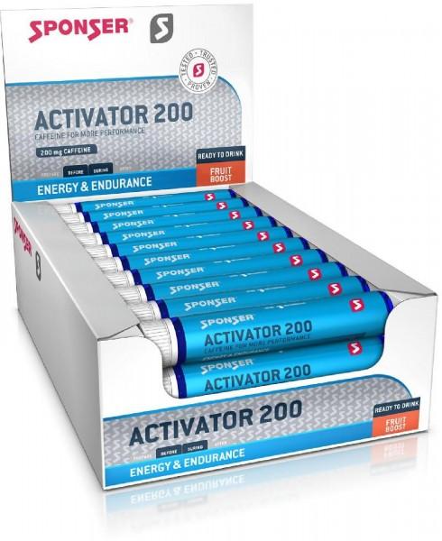 Sponser Activator 200, 30 x 25 ml Ampullen, Energy