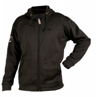 Ju-Sports Softshell-Jacke schwarz mit Kapuze