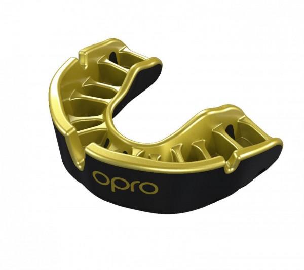 Ju-Sports OPRO Zahnschutz Gold Senior black/pearl