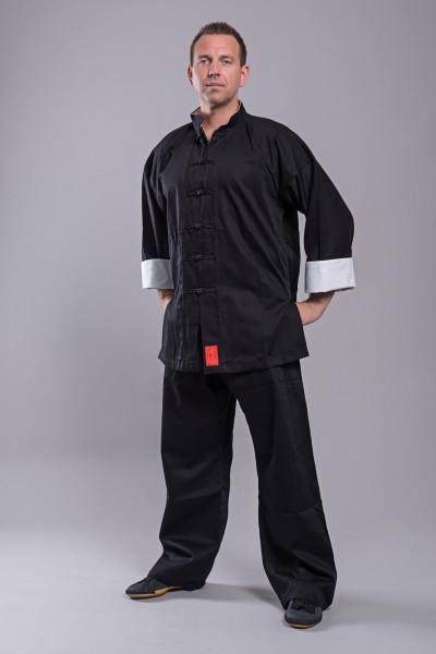 Phoenix Shaolin II Kung Fu Black Shaolinanzug 5