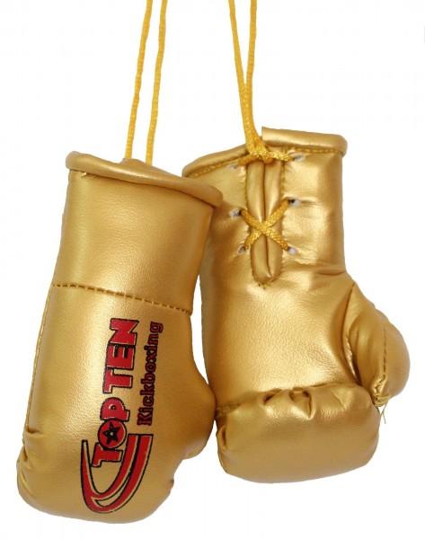 TOP TEN Mini-Boxhandschuhe TOP TEN Kickboxing - gold
