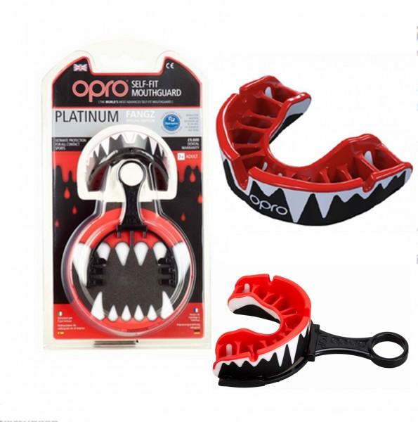 OPRO Platinum Senior Zahnschutz Fangzähnedesign