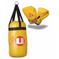 Ju-Sports Boxing Set für Kinder gelb