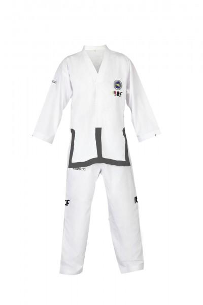 adidas Dobok Adichamp III weisses Revers Taekwondo Anzug