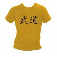 Ju-Sports Shirt Budo Kanji