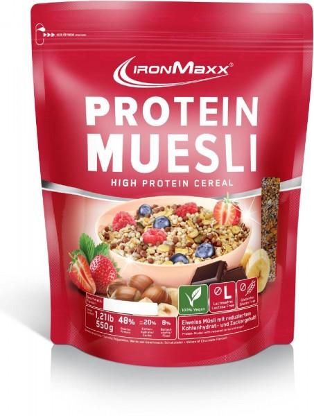 IronMaxx Protein Müsli, 550 g Beutel