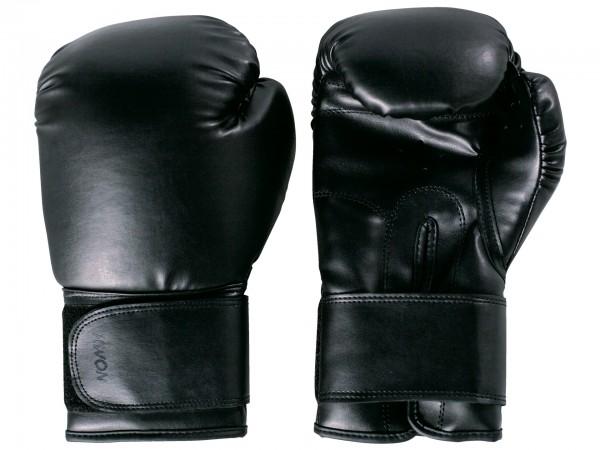 Schwarze KWON Boxhandschuhe Training
