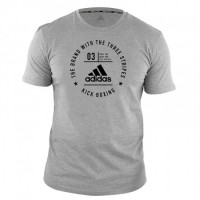 ADIDAS Community T-Shirt Kickboxing Grey/Black
