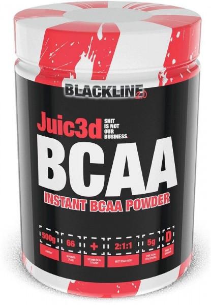 BlackLine 2.0 Juic3d BCAA, 500 g Dose