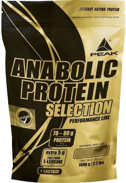 Peak Performance Anabolic Protein Selection, 1000 g Beutel