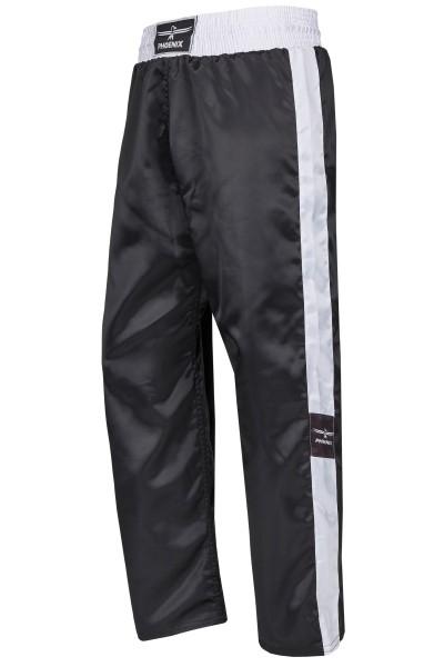 PHOENIX Kickboxhose TOPFIGHT, schwarz-weiß Gr. 120-200cm