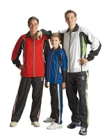 Ju-Sports Trainingsanzug Ju-Sports Rio weiß/anthrazit