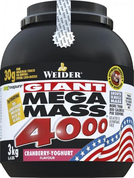 Joe Weider Mega Mass 4000, 3000 g Dose