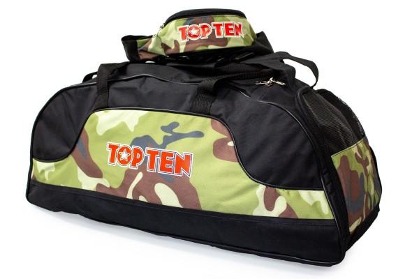 TOP TEN Sporttasche Camouflage Set - 80 cm x 40 cm x 40 cm