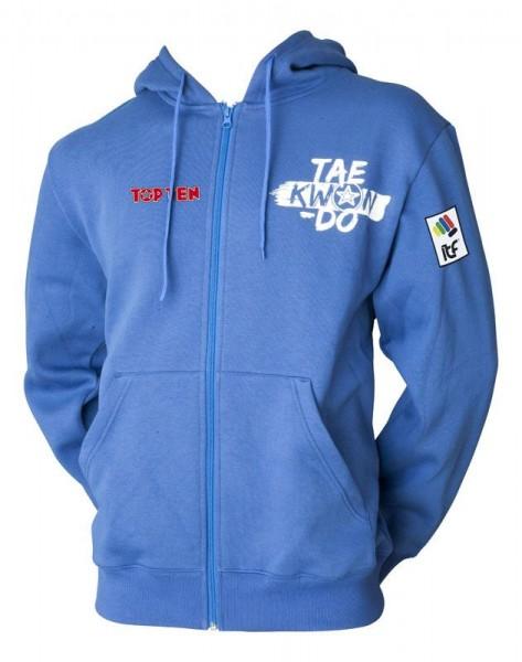 TOP TEN ZIP Hoodie ITF Taekwon-Do