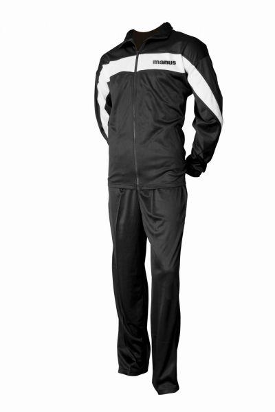 Sportanzug für Fitness und Freizeit von Manus in Schwarz-Weiß
