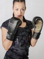PAFFEN SPORT Lady Black Leo Frauenboxhandschuhe