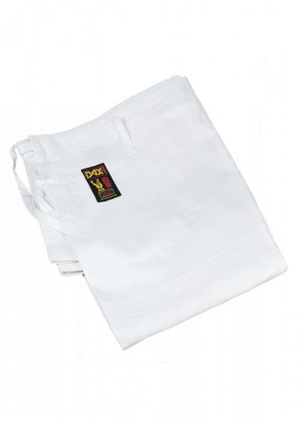 Dax Sports Judo-Wettkampfhose,Moskito Plus,mit Schnürbund,Weiß
