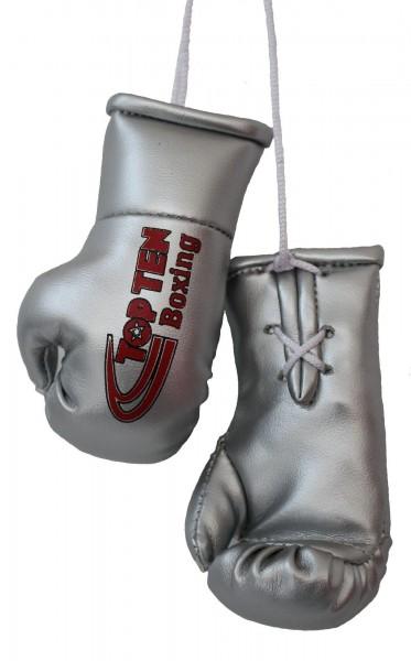 TOP TEN Mini-Boxhandschuhe TOP TEN Boxing - silber
