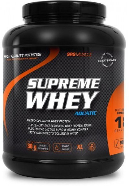 SRS Supreme Whey, 900 g Dose