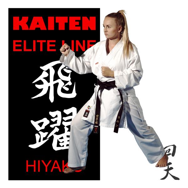 KAITEN Karateanzug Elite Line Hiyaku