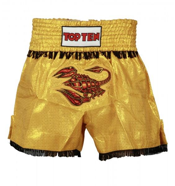 TOP TEN Thaibox-Shorts Animal mit Scorpion