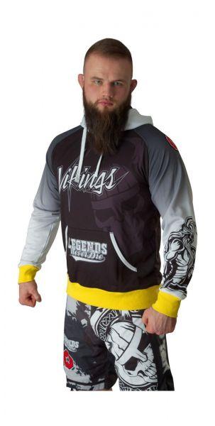 MMA Hoodie Vikings von Top Ten Frontansicht