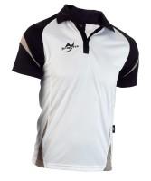 Ju-Sports Teamwear Element C2 Polo weiß/schwarz