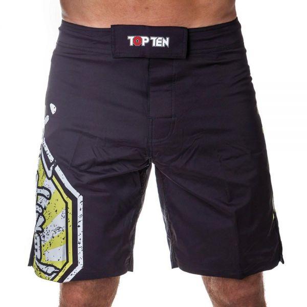 MMA Shorts Herren Dryfit Elastisch Klettverschluss