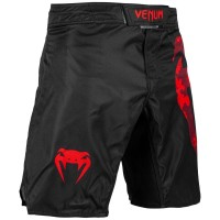 VENUM Light Fightshorts schwarz/rot