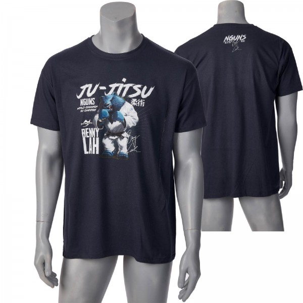 Ju-Sports Nguns Benny Lah Ju-Jitsu T-Shirt L150 mouse grey