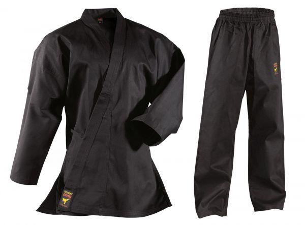 Schwarzer Karateanzug für Kinder DANRHO Asia Shiro 9oz