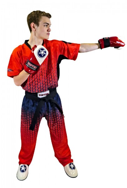 TOP TEN Grafic Rubin Kickboxuniform