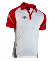 Ju-Sports Teamwear Element C2 Polo weiß/rot