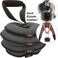 C.P. Sports Softkettlebell, verstellbar 1,5 - 8 kg Kugelhantel