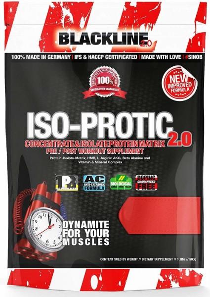 Blackline 2.0 Iso-Protic 2.0, 500 g Beutel